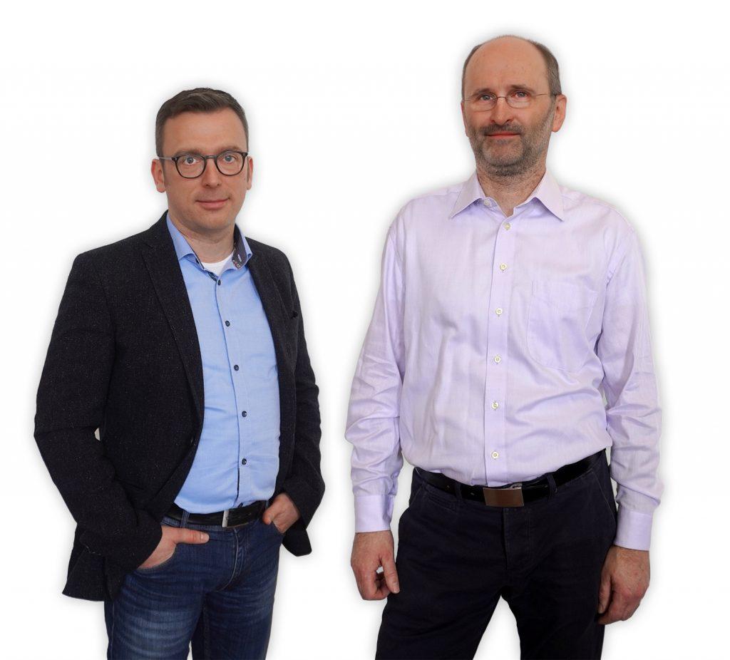 Thomas Sepp und Holger Anders von eKiosk